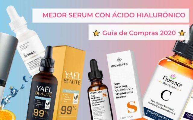 Mejores serum de ácido hialurónico y vitamina C
