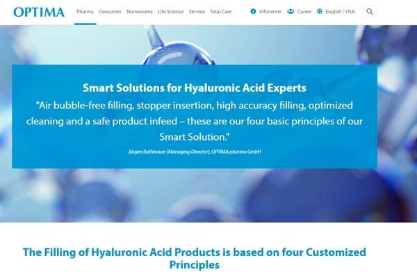 cómo hacer acido hialuronico industrial